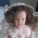 Muñecas Porcelana: MUÑECA DE PORCELANA DE COLECCIÓN ,COMPLETAMENTE DE PORCELANA.. Lote 40718690