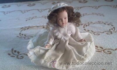 Muñecas Porcelana: Muñeca de porcelana de colección ,completamente de porcelana. - Foto 2 - 40718690
