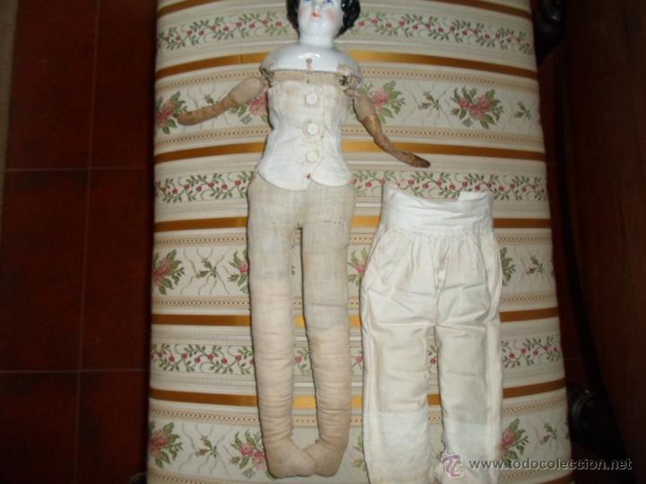 Muñecas Porcelana: Maniquí del SXIX- posiblemente Inglesa - Foto 11 - 40031199
