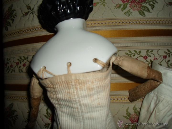 Muñecas Porcelana: Maniquí del SXIX- posiblemente Inglesa - Foto 14 - 40031199