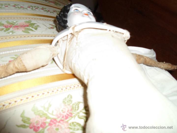 Muñecas Porcelana: Maniquí del SXIX- posiblemente Inglesa - Foto 16 - 40031199