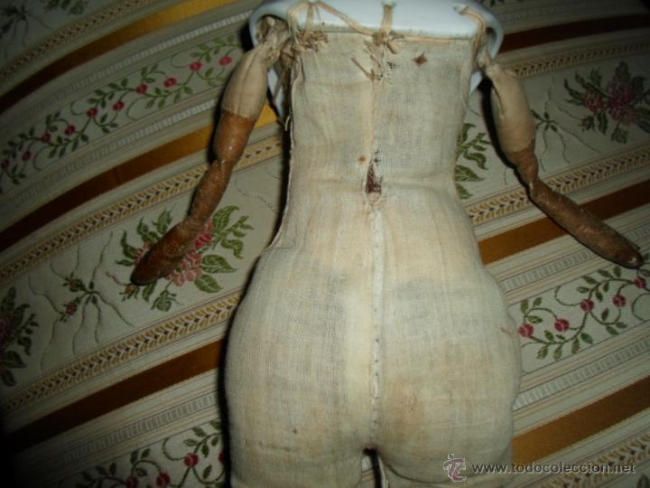 Muñecas Porcelana: Maniquí del SXIX- posiblemente Inglesa - Foto 20 - 40031199