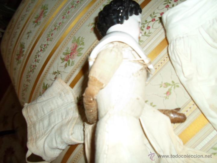Muñecas Porcelana: Maniquí del SXIX- posiblemente Inglesa - Foto 24 - 40031199