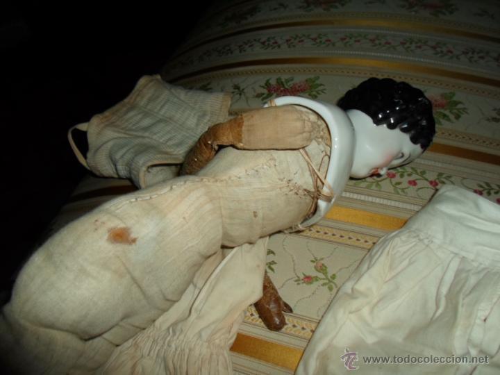 Muñecas Porcelana: Maniquí del SXIX- posiblemente Inglesa - Foto 25 - 40031199