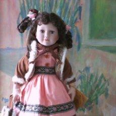 Muñecas Porcelana: MUÑECA DE COLECCION ANTIGUA ALEMANA. Lote 41250526