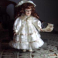 Muñecas Porcelana: MUÑECA DE PORCELANA DE 30 CMS. BUENA CONSERVACION.. Lote 41378621