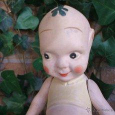 Muñecas Porcelana: MUÑECO TODO BISCUIT FUMS UP, HANCOCK & SOND ENGLAND 1914 TIPO KEWPIE. Lote 41539774