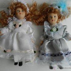 Muñecas Porcelana: MUÑECAS DE PORCELANA 15 CM.. Lote 41773604