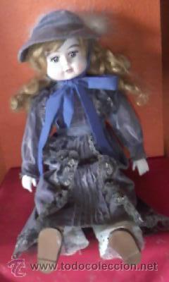 Muñecas Porcelana: Antigua muñeca de porcelana Victoriana . Primera mitad siglo XX - Foto 2 - 42006039