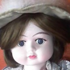 Muñecas Porcelana: ANTIGUA MUÑECA DE PORCELANA VICTORIANA . PRIMERA MITAD SIGLO XX. CHICO.. Lote 42006737