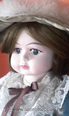 Muñecas Porcelana: Antigua muñeca de porcelana Victoriana . Primera mitad siglo XX. CHICO. - Foto 4 - 42006737