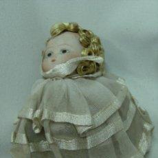 Muñecas Porcelana: MUÑECA DE PORCELANA Y CUERPO DE TRAPO. Lote 42051746