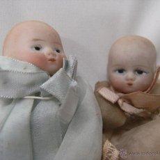 Muñecas Porcelana: ANTIGUAS MUÑECAS CIRCA DE PORCELANA Y CUERPO DE TRAPO. AÑO 1914. Lote 42051841