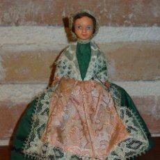 Muñecas Porcelana: ANTIGUA MUÑECA PEQUEÑA TRAJE REGIONAL.. Lote 42064361