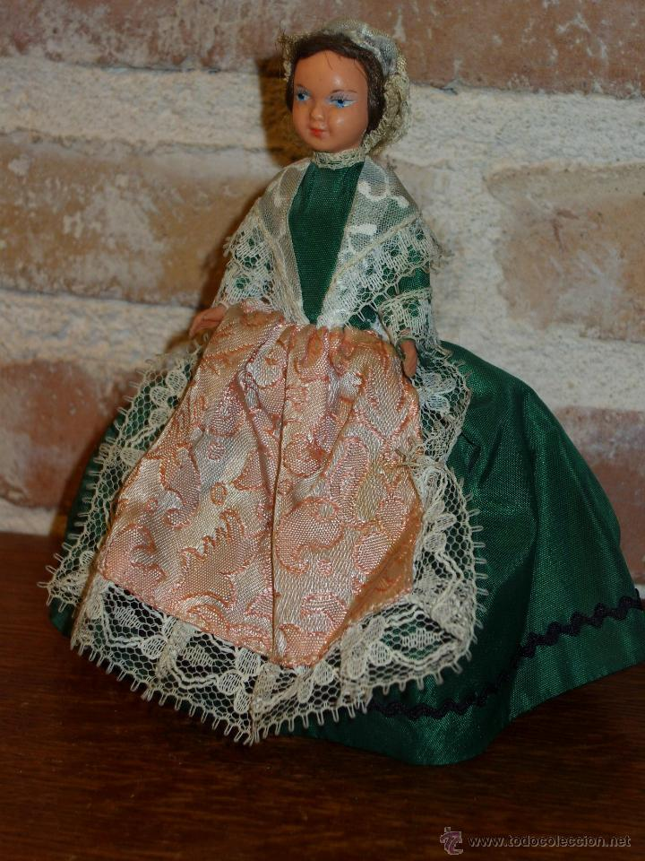 Muñecas Porcelana: ANTIGUA MUÑECA PEQUEÑA TRAJE REGIONAL. - Foto 5 - 42064361
