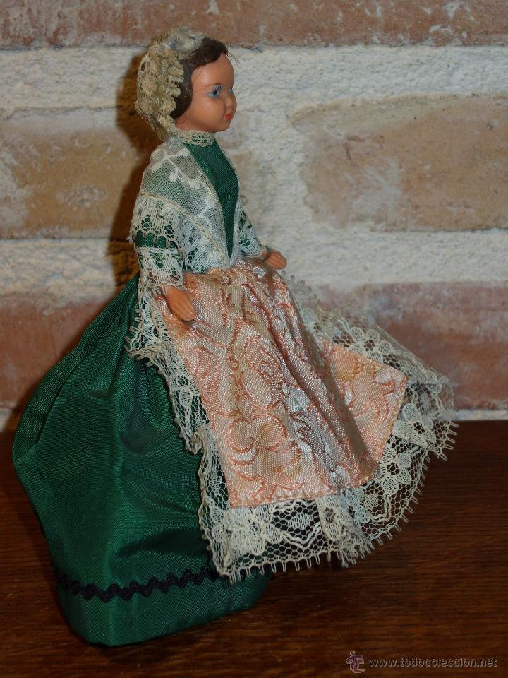 Muñecas Porcelana: ANTIGUA MUÑECA PEQUEÑA TRAJE REGIONAL. - Foto 7 - 42064361