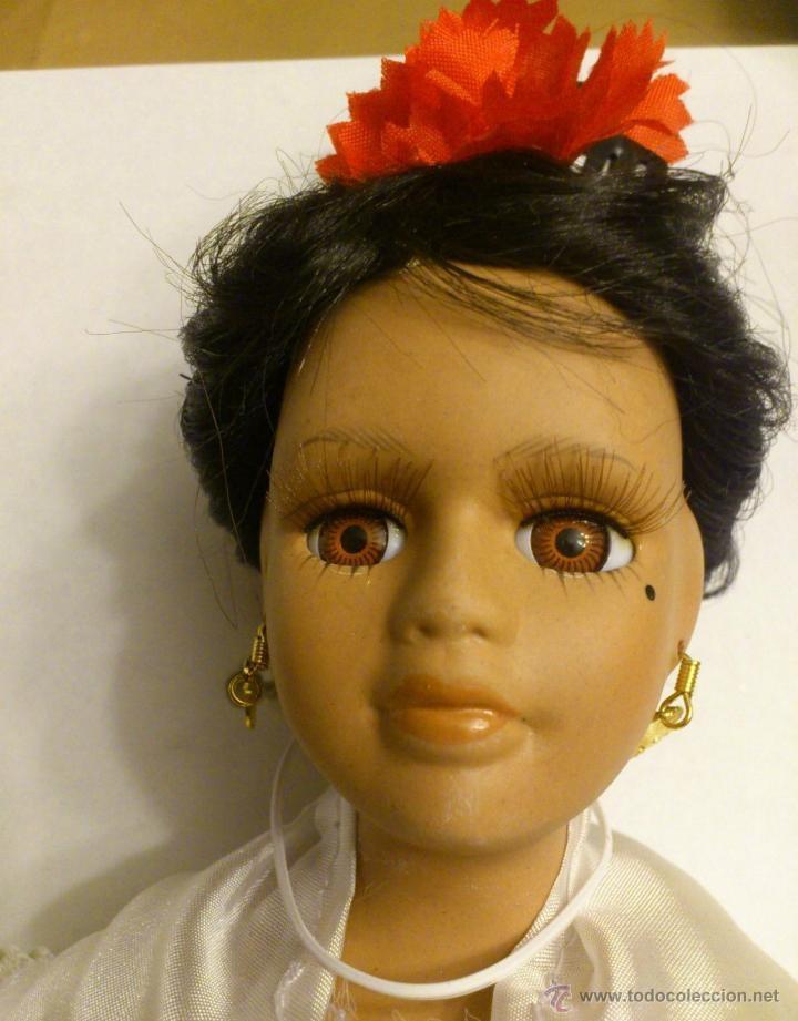 Muñecas Porcelana: MUÑECA FLAMENCA DE PORCELANA , COLECCION MUÑECAS REGIONALES ESPAÑOLAS 40 CMS - Foto 2 - 42350731