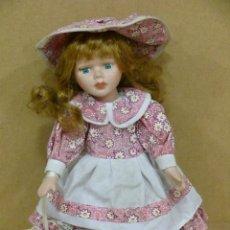 Muñecas Porcelana: MUÑECA ANTIGUA DE PORCELANA DE 25 CM. DE ALTURA.. Lote 42407738