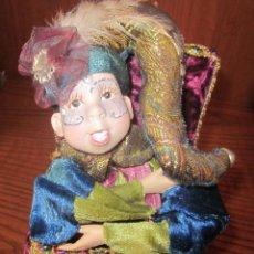 Muñecas Porcelana: CLOWN AUTÓMATA DE PORCELANA,MUSICAL,A CUERDA,FUNCIONANDO,AÑOS 90. Lote 42677081