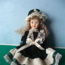 Muñecas Porcelana: PEQUEÑA MUÑECA CERAMICA. Lote 42774251