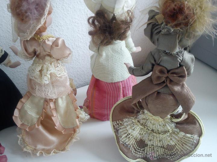 Muñecas Porcelana: ANTIGUA Y MUY PRECIOSA COLECION DE 5 MONECAS DE PORCELANA ARTICULADAS LAS ROPAS ORIGINALES ANOS 40, - Foto 6 - 42781389