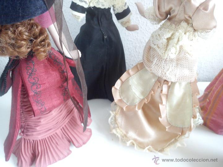 Muñecas Porcelana: ANTIGUA Y MUY PRECIOSA COLECION DE 5 MONECAS DE PORCELANA ARTICULADAS LAS ROPAS ORIGINALES ANOS 40, - Foto 8 - 42781389