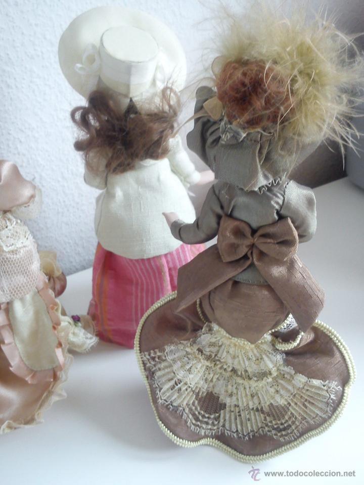 Muñecas Porcelana: ANTIGUA Y MUY PRECIOSA COLECION DE 5 MONECAS DE PORCELANA ARTICULADAS LAS ROPAS ORIGINALES ANOS 40, - Foto 9 - 42781389