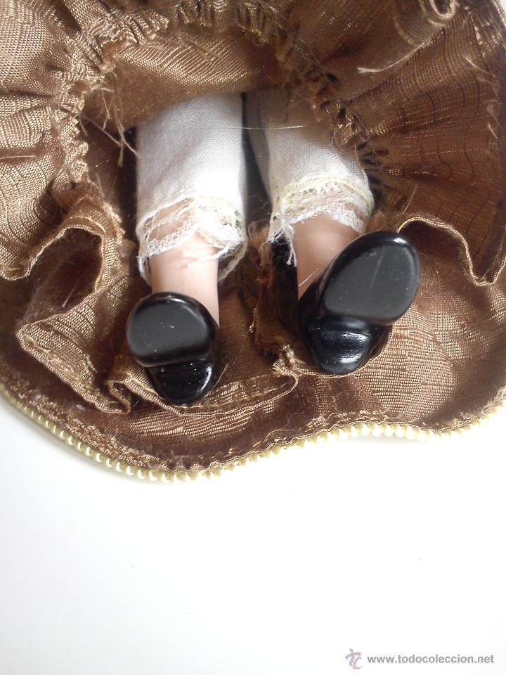 Muñecas Porcelana: ANTIGUA Y MUY PRECIOSA COLECION DE 5 MONECAS DE PORCELANA ARTICULADAS LAS ROPAS ORIGINALES ANOS 40, - Foto 11 - 42781389