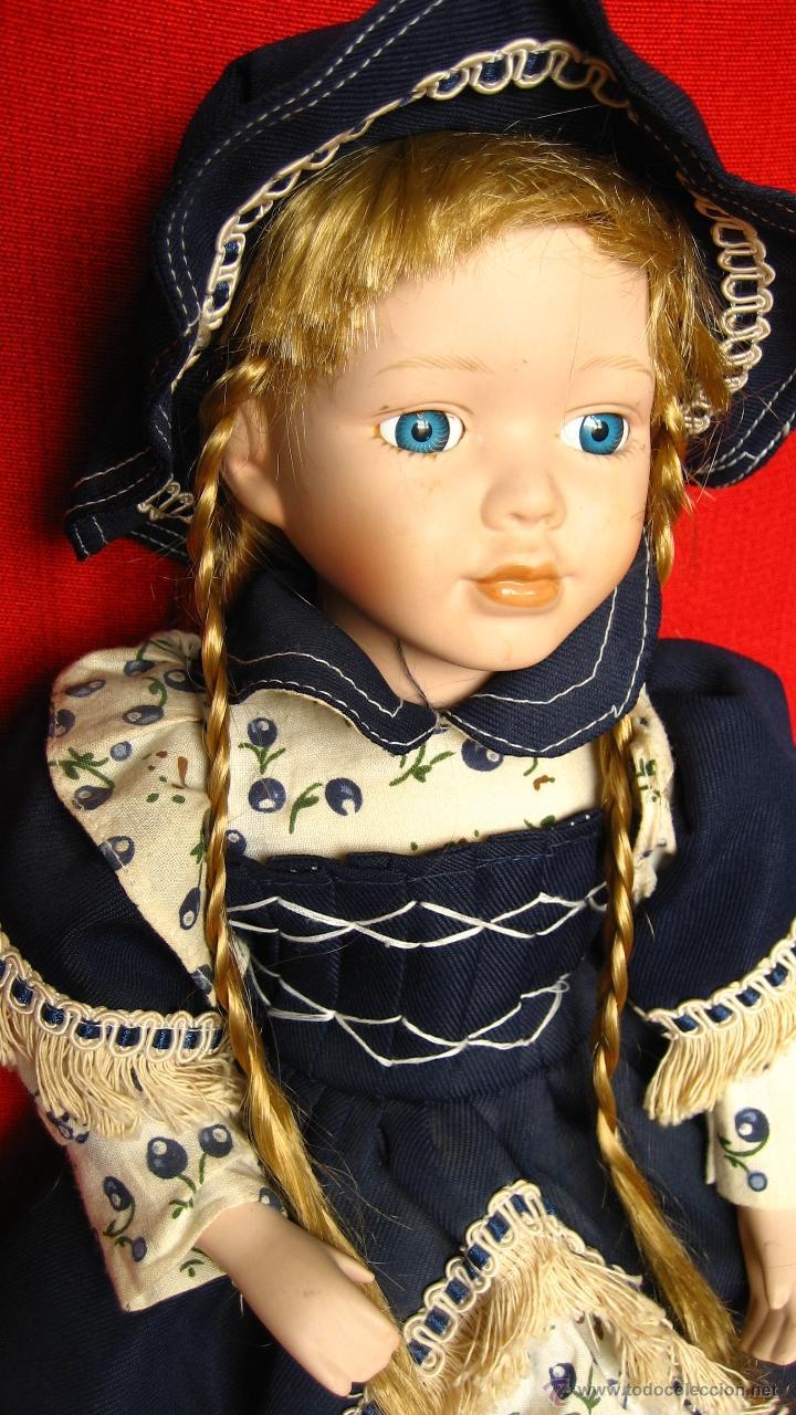 Muñecas Porcelana: PRECIOSA MUÑECA DE PORCELANA - Foto 3 - 43015005
