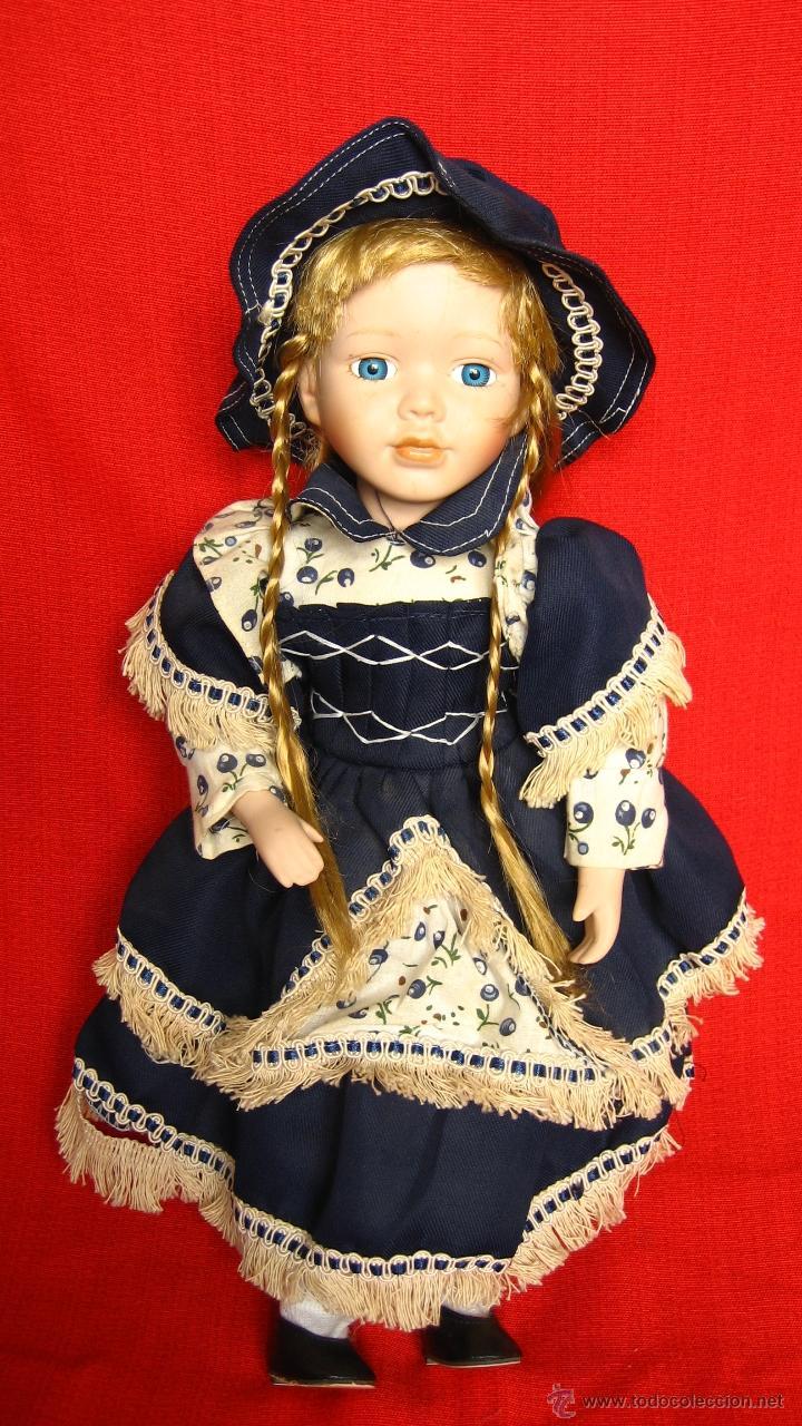 Muñecas Porcelana: PRECIOSA MUÑECA DE PORCELANA - Foto 4 - 43015005
