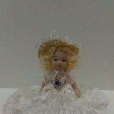 Muñecas Porcelana: PEQUEÑA MUÑECA ARTICULADA. Lote 43208166