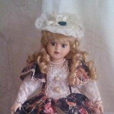 Muñecas Porcelana: MUÑECA DE PORCELANA 42 X 20 CMS. Lote 43628814
