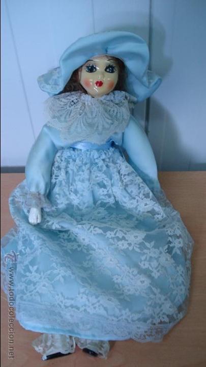 (Nº71) MUÑECA DE PORCELANA CON EL CUERPO DE PORCELANA (Juguetes - Muñeca Extranjera Moderna - Porcelana)