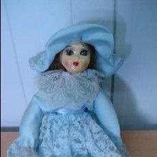 Muñecas Porcelana: (Nº71) MUÑECA DE PORCELANA CON EL CUERPO DE PORCELANA . Lote 43658173