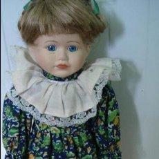 Muñecas Porcelana: (Nº74) MUÑECA DE PORCELANA . Lote 43658420