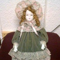 Muñecas Porcelana: MUÑECA DE PORCELANA BLANCA AÑOS 70. Lote 43922078