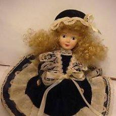 Muñecas Porcelana: BONITA MUÑECA EN PIEDRA CARA Y CUERPO. Lote 45097266