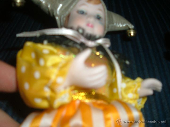 Muñecas Porcelana: 2 Arlequines de porcelana vintage - Foto 4 - 45188289