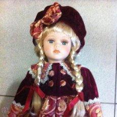Muñecas Porcelana: MUÑECA DE PORCELANA ANTIGUA. Lote 108920275