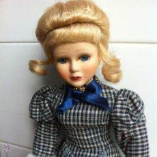 Muñecas Porcelana: PRECIOSA MUÑECA DAMA DE PORCELANA. Lote 45451248
