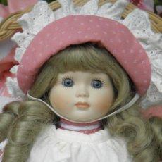 Muñecas Porcelana: MUÑECA DE PORCELANA VINTAGE DE 33 CM EN PERFECTO ESTADO. Lote 45640976
