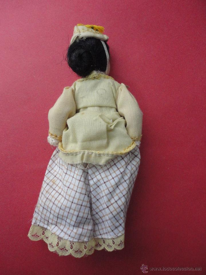 Muñecas Porcelana: MUÑECA PORCELANA. (16 CM DE LARGO) - Foto 2 - 46347392
