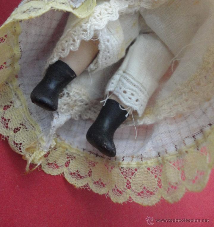 Muñecas Porcelana: MUÑECA PORCELANA. (16 CM DE LARGO) - Foto 3 - 46347392