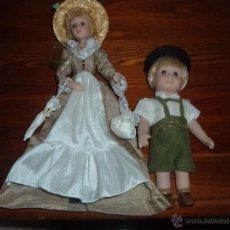 Muñecas Porcelana: MUÑECAS DE PORCELANA. Lote 46956752