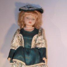 Muñecas Porcelana: MUÑECA DE CERÁMICA COMPUESTA AÑOS 70/80 CABEZA MARCADA DC-44C. Lote 47002916