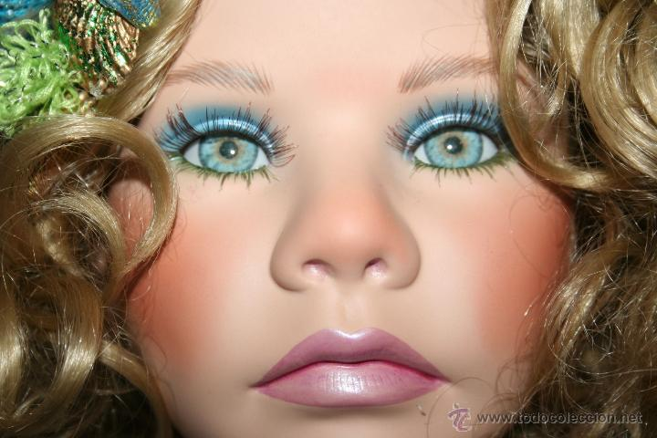 Muñecas Porcelana: preciosa muñeca de porcelana sirena - Foto 2 - 48076428