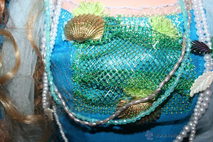 Muñecas Porcelana: preciosa muñeca de porcelana sirena - Foto 7 - 48076428