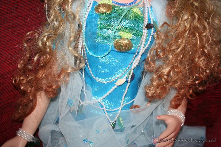 Muñecas Porcelana: preciosa muñeca de porcelana sirena - Foto 11 - 48076428