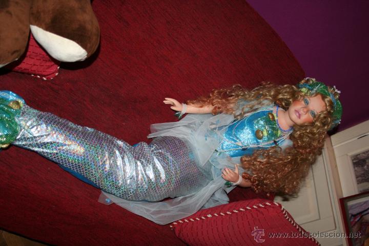 Muñecas Porcelana: preciosa muñeca de porcelana sirena - Foto 15 - 48076428