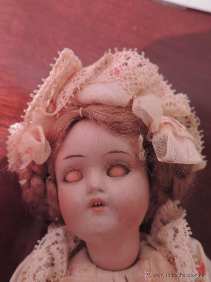 Muñecas Porcelana: IMPORTANTE MUÑECA DE PORCELANA O BISCUIT CON CUERPO DE PAPIER MACHE - Foto 2 - 47513822